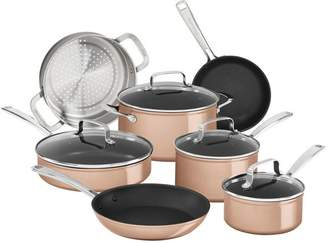 KitchenAid Hard Anodized Nonstick 11-Piece Cookware Set
