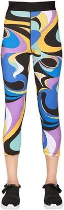 Emilio Pucci Printed Stretch Lycra Leggings