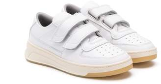Acne Studios touch strap tennis sneakers