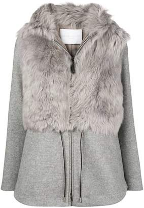 Fabiana Filippi fur zipped jacket