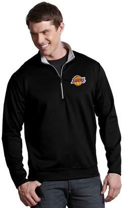 Antigua Men's Los Angeles Lakers Leader Pullover