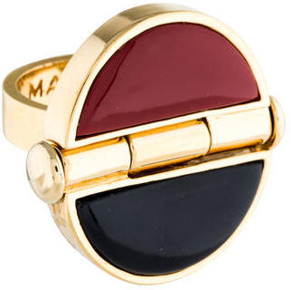 Marc by Marc Jacobs Enamel Hinge Ring $45 thestylecure.com