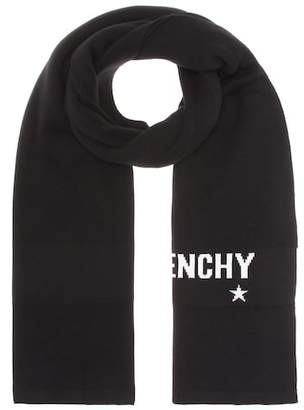 Givenchy Cotton and cashmere scarf