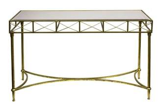 House of Hampton Bamard Patently Metal Console Table