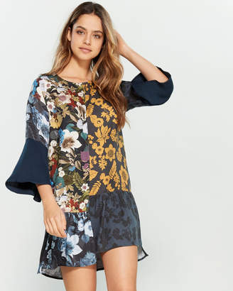 Desigual Navik Multi Print Dress