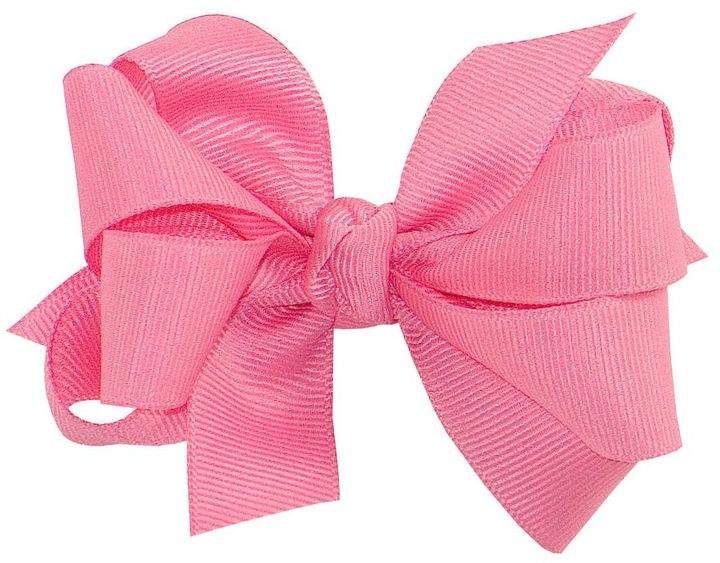 Copper Key Hot Pink Grosgrain Double Bow