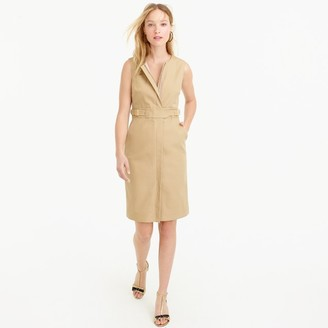 Zip-front sleeveless dress $138 thestylecure.com