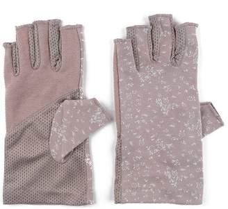 JURUAA Summer Hiking Outdoor Sun Gloves Summer Dress Driving Gloves Cool Biking Anti UV Gloves