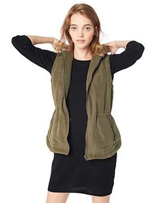 Jack by BB Dakota Junior's Hey-Ya Microfiber Vest with Fur-Lined Hood