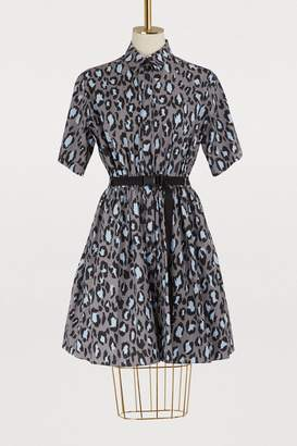 Kenzo Leopard short dress