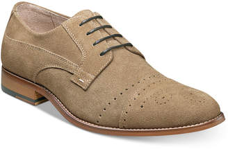 Stacy Adams Men's Deacon Suede Cap Toe Oxfords Men's Shoes