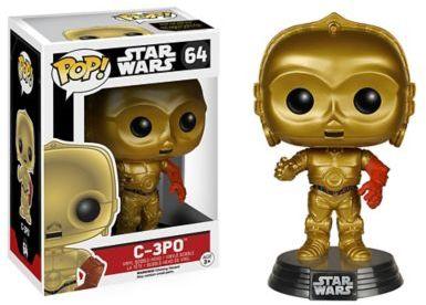 Funko Pop! Star WarsTM Episode 7 C-3PO Figurine