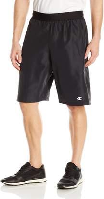 Champion Men's Crossover 2.0 Short, Scarlet/Black/White