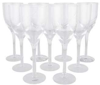 Kosta Boda Set of 9 Line Water Goblets