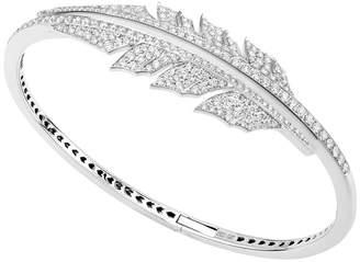 Stephen Webster Magnipheasant Pavé Open Feather Bracelet