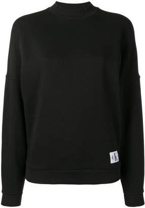 Calvin Klein Underwear logo patch sweatshirt