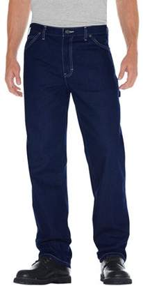 Dickies Men's Relaxed Fit Straight Leg Rigid Carpenter Jeans