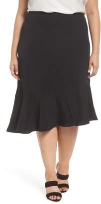 Sejour Slit Hem Skirt