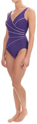 Miraclesuit Women's Horizon One Piece Swimsuit Purple