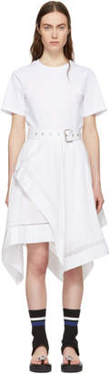 3.1 Phillip Lim White Handkerchief Skirt Dress