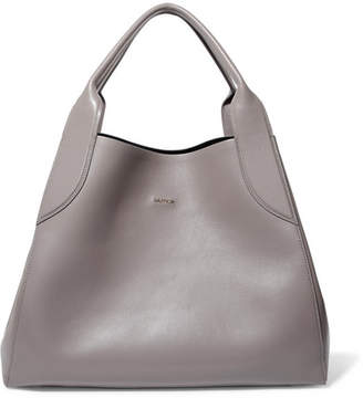 Lanvin - Leather Shoulder Bag - Gray $1,910 thestylecure.com