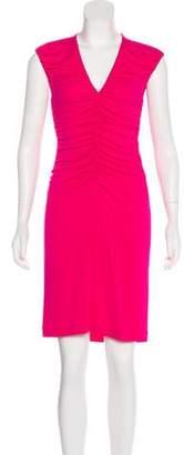 Philosophy di Alberta Ferretti Knee-Length Ruched Dress