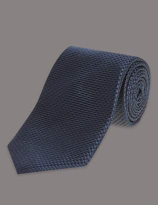 Marks and Spencer Pure Silk Premium Waffle Evening Tie