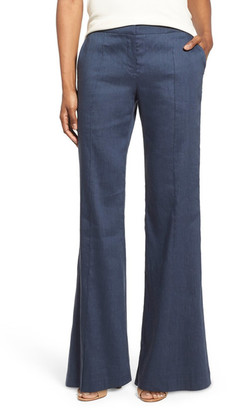 Lafayette 148 New York Kenmare Flare Leg Pant $378 thestylecure.com