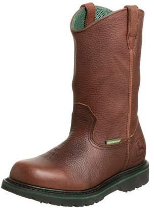"John Deere Men's JD4283 10"" Waterproof Pull On Boot"