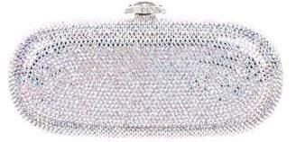 Judith Leiber Crystal Embellished Minaudiere