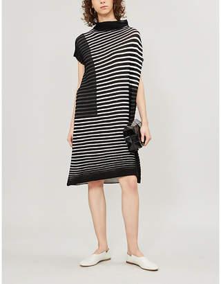 221301845 Grey Pleated Dress - ShopStyle UK