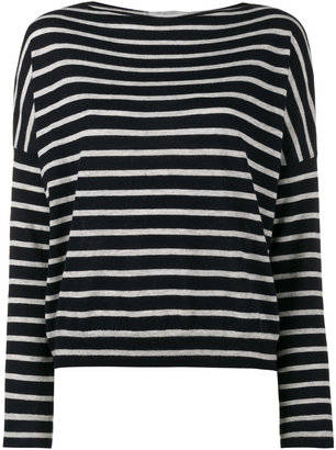 knitted stripe top