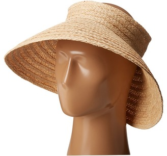 Hat Attack - Roll Up Travel Visor Casual Visor $78 thestylecure.com