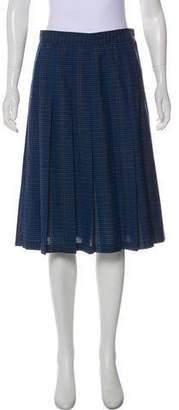 Pendleton Virgin Wool Knee-Length Skirt