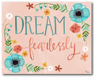 Courtside Market Wall Decor Courtside Market Dream Fearlessly Gallery-Wrapped Canvas Wall Art