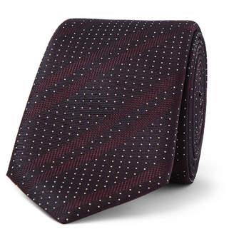 HUGO BOSS 6cm Silk-Jacquard Tie - Men - Burgundy