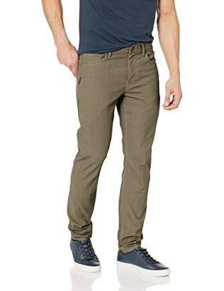 Hudson Jeans Men's Sartor Relaxed Skiny W/Ss Zip Twill