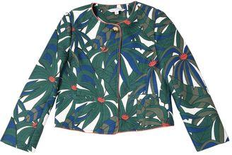 Jungle Printed Canvas Jacket $192 thestylecure.com