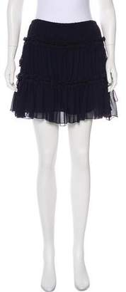See by Chloe Gathered Mini Skirt