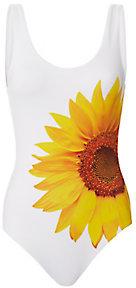 Kelly Sunflower Print One Piece Swimsuit