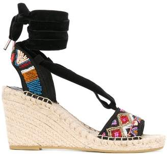 Ash Paola wedge sandals