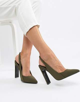 Asos Design Poker Slingback High Heels