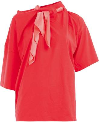 Y/Project scarf neck blouse