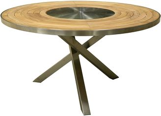 Hudson Furniture Outdoor Dining Tables Highline Outdoor Round Dining Table