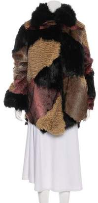 One Teaspoon One x Faux Fur Grizzly Manor Coat w/ Tags
