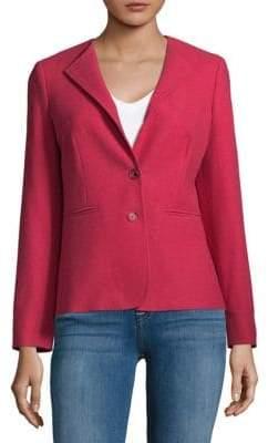 Max Mara Basic Buttoned Jacket