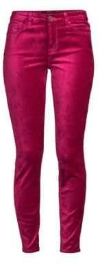 Velvet Ankle Skinny Jeans