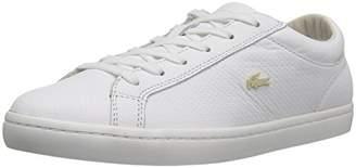 Lacoste Women's Straightset 316 1 Caw Fashion Sneaker