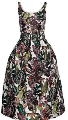 Oscar de la Renta Midi Dress