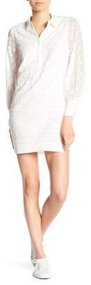 Joie Jamari Eyelet Lace Detailed Dress